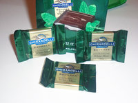 Ghirardelli Squares Dark Chocolate with White Mint uploaded by Maria R.