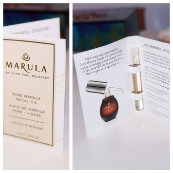 Marula Pure  Facial Oil uploaded by Maria R.