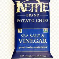 Kettle Brand® Sea Salt & Vinegar Potato Chips uploaded by Tamarra J.