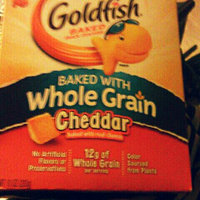 Goldfish® Cheddar Baked Snack Crackers Made With Whole Grain uploaded by Cathy R.