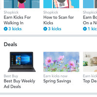 ShopKick App Shopping Rewards Program uploaded by Jennifer M.