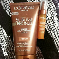 L'Oréal Paris Sublime Bronze™ Tinted Self-Tanning Lotion Medium Natural Tan uploaded by Sky N.