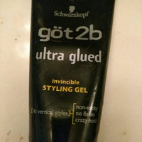 göt2b ultra glued Invisible Styling Gel uploaded by Bobbie-Jo B.