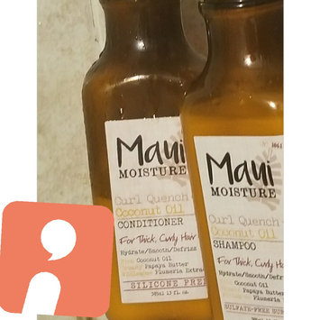 Maui Moisture Curl Quench + Coconut Oil Conditioner uploaded by Christina B.