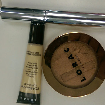 Lorac Travel Size Matte Tan TANtalizer Baked Bronzer uploaded by leslie m.