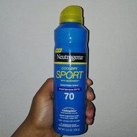 Neutrogena CoolDry Sport Sunscreen Spray Broad Spectrum SPF 70 uploaded by Lissary B.
