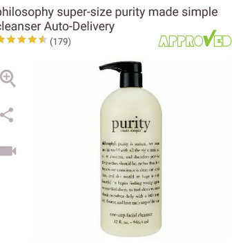 philosophy purity made simple one-step facial cleanser uploaded by Joann C.