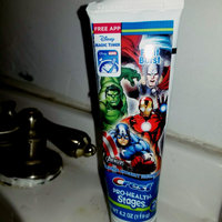 Crest Pro Health Jr Kid's Toothpaste featuring Marvel's Avengers uploaded by maira f.