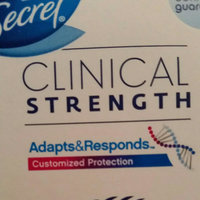 Secret® Clinical Strength Completely Clean Clear Gel Deodorant uploaded by Daisy L.