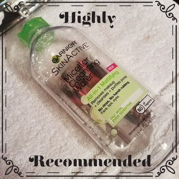 Garnier Skinactive Micellar Cleansing Water All-in-1 Mattifying uploaded by Ivett O.