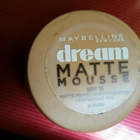 Maybelline Dream Matte® Mousse Foundation uploaded by nouhaila t.