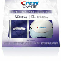 Crest 3D White Whitestrips with Light Teeth Whitening Kit uploaded by Tina C.