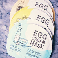 Too Cool For School Egg Cream Mask Pore Tightening uploaded by Ïmă N.