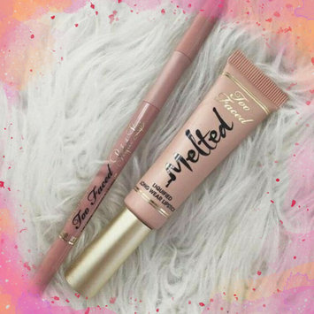 Too Faced Melted Liquified Long Wear Lipstick uploaded by Nisha T.
