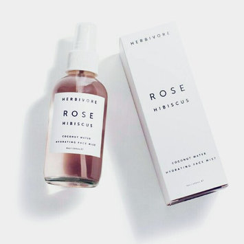 Herbivore Rose Hibiscus Coconut Water Hydrating Face Mist 4 oz uploaded by racha S.
