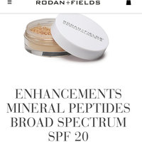 Rodan + Fields Enhancements Mineral Peptides Broad Spectrum SPF 20 - Medium uploaded by Tracy C.