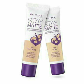 Rimmel Stay Matte Liquid Mousse Foundation uploaded by Sama A.