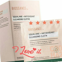 Biossance Squalane + Antioxidant Cleansing Cloths uploaded by dima z.