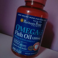 Puritan's Pride Double Strength Omega-3 Fish Oil 1200 mg/600 mg Omega-3-90 Softgels uploaded by Hadeel K.