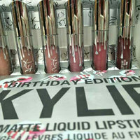 Kylie Cosmetics Limited Birthday Edition Kylie Matte Liquid Lipsticks uploaded by may a.