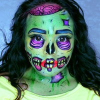 Mehron Fantasy FX Face Painting Makeup - Ogre Green uploaded by DANZ |.