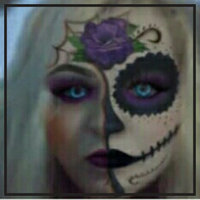 Pressed Powder Compact Adult Costume Makeup White uploaded by Danielle L.
