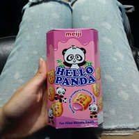 MEIJI Hello Panda Biscuit with Strawberry Cream Filling uploaded by Dara W.