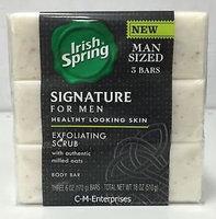 Irish Spring Signature for Men Exfoliating Bar Soap uploaded by Yadilka V.