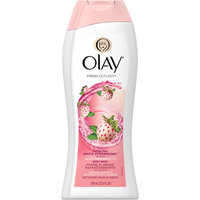 Olay Fresh Outlast Body Wash, Cooling White Strawberry & Mint, 13.5 fl oz uploaded by Tabby R.