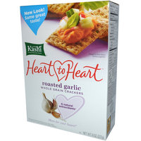 Kashi® Heart To Heart Roasted Garlic Whole Grain Crackers uploaded by Yusleidy R.