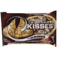 Photo of Hershey's Kisses Milk Chocolates With Almonds uploaded by Ashlee Z.
