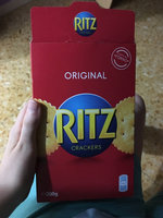 Nabisco RITZ Crackerfuls Cheddar Cheese & Bacon Filled Crackers uploaded by Juan G.