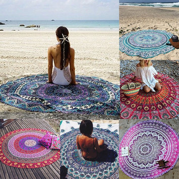 Photo of Ombre Medallion Beach Towel uploaded by Shari A.