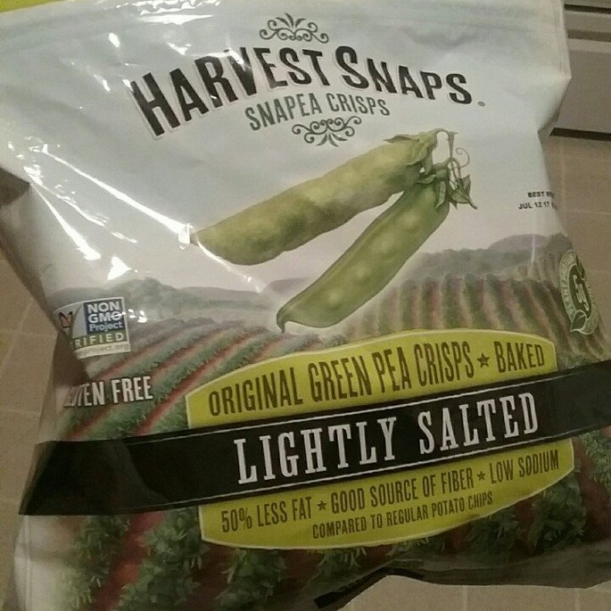 Harvest Snaps Snapea Crisps Lightly Salted uploaded by Anna M.