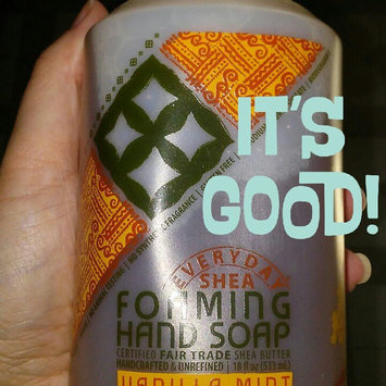 Photo of Alaffia Everyday Shea Foaming Shea Butter Hand Soap Vanilla Mint - 18 fl oz uploaded by Tracy J.