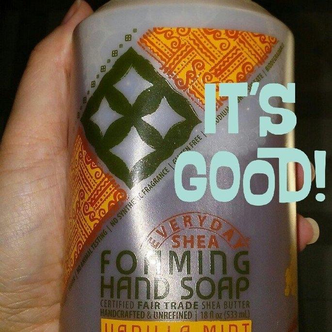 Alaffia Everyday Shea Foaming Shea Butter Hand Soap Vanilla Mint - 18 fl oz uploaded by Tracy J.