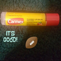 Carmex Moisturizing Lip Balm Stick SPF 15 Strawberry 0.15 Oz. (Quantity of 6) uploaded by Anita S.
