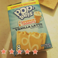 Pop-Tarts Dunkin' Donuts' Frosted Vanilla Latte Toaster Pastries uploaded by Angelina A.