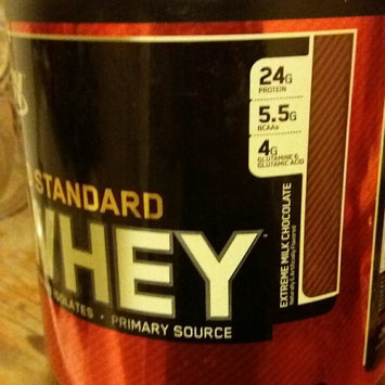 Photo of Optimum Nutrition Gold Standard Natural 100% Whey Protein uploaded by Maria M.