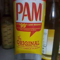 Pam Original No-Stick Cooking Spray 100% natural Canola Oil (2 pack - 12oz each can) uploaded by Luis T.