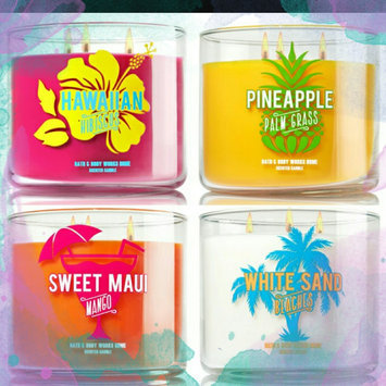 Photo of Bath & Body Works Scented 3 Wick Candle 14.5 Oz Hawaiian Hibiscus uploaded by Anita S.