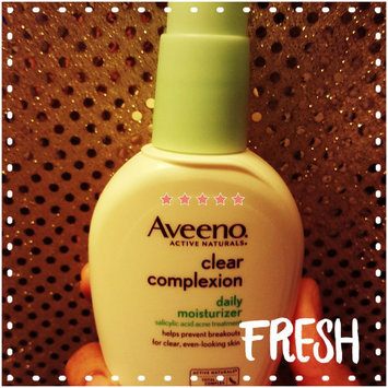 Photo of Aveeno® Clear Complexion Daily Moisturizer uploaded by Whitney B.