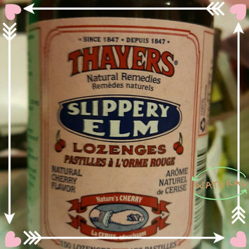 Photo of Thayers Slippery Elm Lozenges, Cherry, 42 Count uploaded by Megan B.