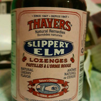 Thayers Slippery Elm Lozenges, Cherry, 42 Count uploaded by Megan B.