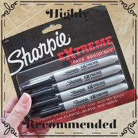 Sharpie 4-Pack Black Permanent Marker 1927436 uploaded by Amanda L.