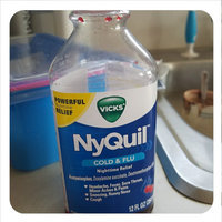 Vicks NyQuil Cold & Flu Nighttime Relief Cherry Flavor Liquid uploaded by Amanda L.