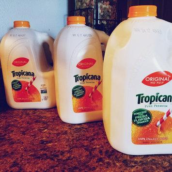 Photo of Tropicana® No Pulp 100% Pure Florida Orange Juice uploaded by laura b.