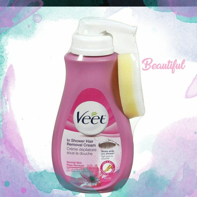 Veet® Botanic Inspirations® In Shower Hair Removal Cream (Sensitive Formula) uploaded by Anita S.