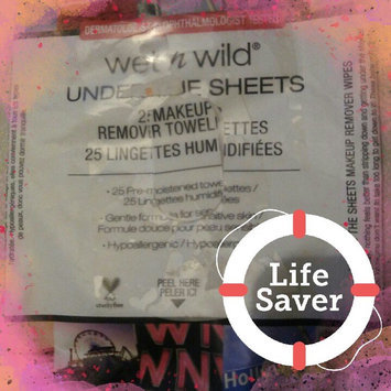 Wet 'n' Wild Wet n Wild Under the Sheets Makeup Remover Towelettes, Makeup Remover Wipes, 25 ea uploaded by Yajaira H.
