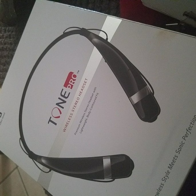 LG Tone Pro Bluetooth Headset uploaded by Elisha B.